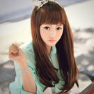 高仿真超自然整頂假髮【MC079】長直髮挑染最強美少女盛典氣質長髮☆雙兒網☆