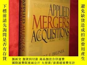 二手書博民逛書店Applied罕見Mergers and Acquisition