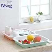 新款家用茶盤托盤時尚創意塑料濾水盆雙層瀝水籃水果盤洗菜盆 格蘭小鋪