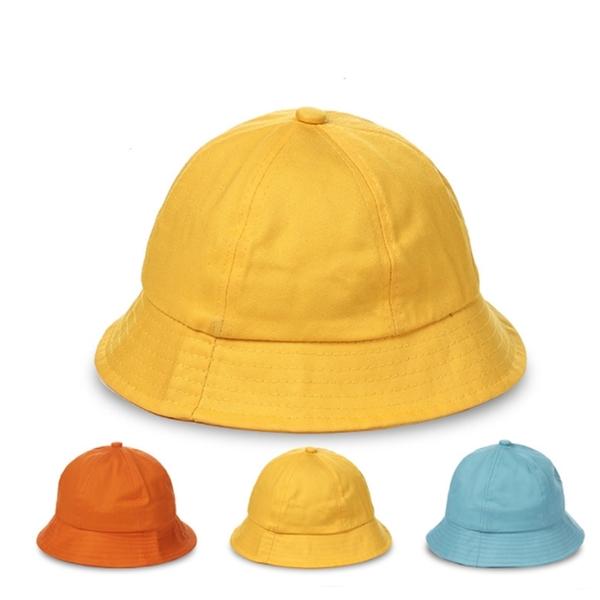 日系幼兒園學生帽 漁夫帽 遮陽防曬帽【庫奇小舖】