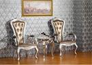 【大熊傢俱】RE 5062新古典 餐椅 椅子 扶手椅 法式 布椅子 書椅 化妝椅