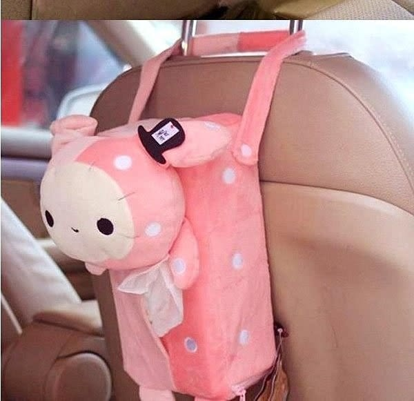【發現。好貨】憂傷馬戲團 憂憂兔面紙套 憂憂兔 可掛紙巾盒紙巾抽 車用面紙套
