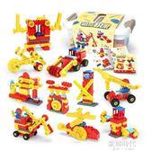 樂高積木歡樂客大顆粒機械齒輪拼裝益智2-8歲男女兒童玩具 歐韓時代