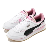 Puma 休閒鞋 Future Rider Von Dutch Wns 白 粉紅 女鞋 復古 運動鞋 【ACS】 37453401