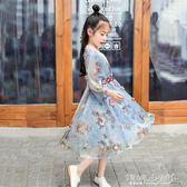 兒童古裝 女童漢服秋裝夏儒裙寶寶小孩唐裝兒童古裝漢服 傾城小鋪