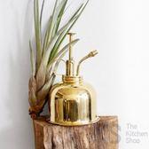 妙HOME brass黃銅 噴壺 澆花 噴霧器 多肉 小型 噴水壺金色盆水壺 卡布奇诺igo