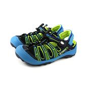 G.P(GOLD PIGEON) 涼鞋 防水 護趾 藍色 中童 童鞋 G9224B-20 no991
