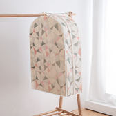 ♚MY COLOR♚ 立體印花衣服掛式防塵罩(S號) 居家 方便 清新 西服 防塵套子 保護【N348】