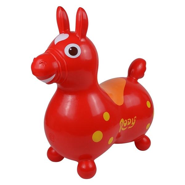 【送打氣筒,下單再折100元】RODY跳跳馬-基本系(紅色)~義大利原裝進口/公司貨