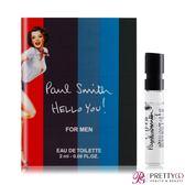PAUL SMITH Hello You 男性淡香水針管(2ml)-公司貨【美麗購】