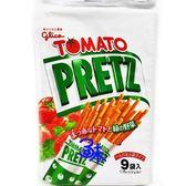 (日本零食)固力果9袋入蕃茄綠野菜棒 1包134公克【4901005100909】