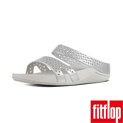 FitFlop TM-WELLJELLY Z-SLIDE-銀色