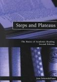二手書博民逛書店 《Steps and Plateaus: The Basics of Academic Reading》 R2Y ISBN:0030339871│Zukowski-Faust