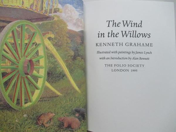 【書寶二手書T6/原文小說_EE1】The Wind in the Willows