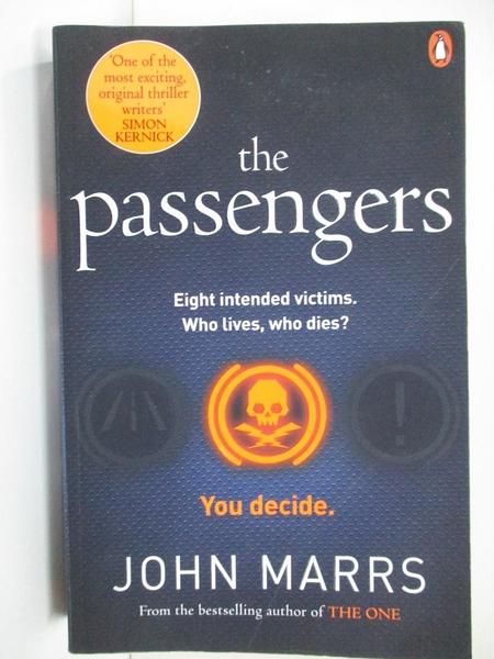【書寶二手書T1/原文小說_BK2】The Passengers_John Marrs
