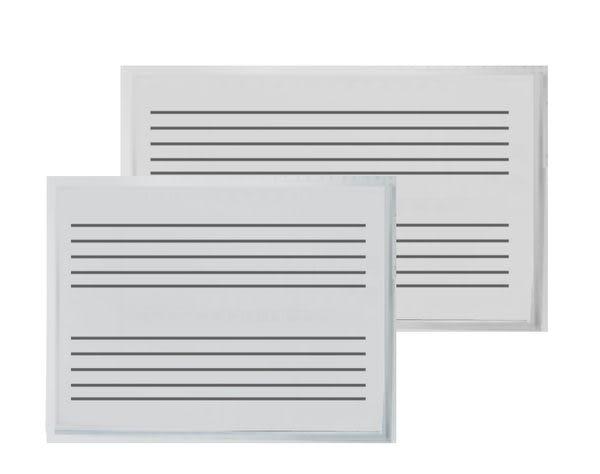 五線譜磁性白板 90X120cm(3X4尺)音樂教學 不含架