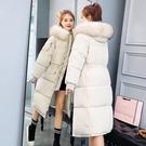 連帽外套 棉衣服女好康推薦新款羽絨冬季正韓bf面包服冬天外套女加厚中長版棉衣
