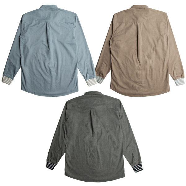 【GT】FairPlay Kris 黑卡其 長袖襯衫 修身 休閒 純棉 素面 長版 美牌 現貨 圓弧下擺 日韓歐美風系