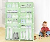 鞋架簡易防塵組裝塑料家用現代簡約