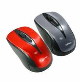 [哈GAME族]滿399免運費 可刷卡●靜音按鍵結構●耐嘉 KINYO LKM-505 USB靜音有線藍光滑鼠 兩色