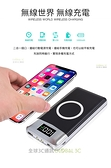 QI 無線充電 液晶 顯示 行動電源 10000mAh 無線充 iPhone X 8 三星 LG 華碩 sony