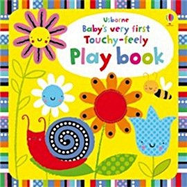 【麥克書店】 BABYS VERY FIRST TOUCHY-FEELY PLAYBOOK  / 寶寶的可愛觸摸書