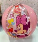 【震撼精品百貨】Micky Mouse_米奇/米妮 ~Disney 迪士尼 粉色歌星沙灘球玩具-米妮#29401