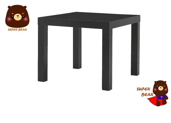 邊桌  矮桌 茶几 黑色 LACK/IKEA