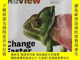二手書博民逛書店harvard罕見business review change fasterY19139 harvard bu