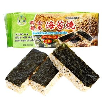 佳饌~黃金蕎麥海苔燒200公克/包