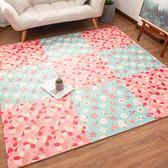 兒童臥室拼圖滿鋪地墊家用泡沫墊子加厚寶寶拼接爬行墊防摔地板墊