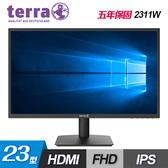 【terra 德國沃特曼】2311W 23型 IPS 不閃屏螢幕(五年保固)