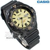 CASIO MRW-200H-5B 休閒運動錶 橡膠錶帶 日期顯示窗 黑x藍色 防水手錶 男錶 卡西歐 MRW-200H-5B