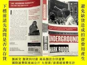 二手書博民逛書店Underground:罕見My Life with SDS and the Weathermen 英文原版小說奇