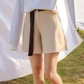 高腰短褲女2020新款春夏韓版寬鬆bf風百搭休閒學生外穿a字闊腿褲