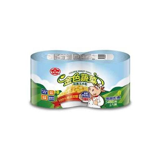 牛頭牌特選玉米粒340Gx2【愛買】