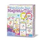 《 4M美勞創作 》神奇轉印貼-精靈彩繪磚 Fairy Magnetic Tile  ╭★ JOYBUS玩具百貨