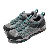 Merrell 戶外鞋 Moab FST 2 GTX 灰 綠 女鞋 運動鞋 Gore-Tex 防水 【ACS】 ML90064