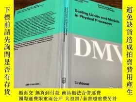 二手書博民逛書店Scaling罕見limits and Models in Physical ProcessesY171500