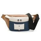 PLAYBOY- 單肩背包/腰包 Mixing系列-米白色