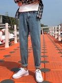秋季牛仔褲男男生直筒寬鬆長褲子秋冬款加絨韓版潮流百搭冬季 嬌糖小屋