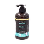 草本森林檜木沐浴精500ml-清爽控油|台灣檜木精油添加 買一送一