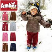 寬褲 長褲 刷毛褲 褲子 Amber 保暖褲 磨毛厚棉 男童 女童 寶寶 多色可選