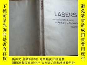 二手書博民逛書店罕見LASERS【激光第3卷英文版】C7Y744 出版1971