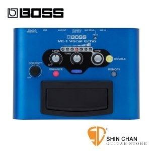 Boss VE-1 專業錄音室等級人聲效果器【Vocal Echo】