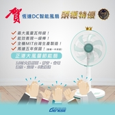 【恆達智能】特優級 DC智能直流涼風扇 電風扇 16吋最大風量7段速微電腦遙控 全機台灣製超靜音