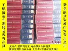 二手書博民逛書店Encyclopaedia罕見Britannica(共19冊,館