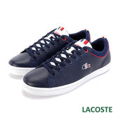 LACOSTE 法國國旗 男用休閒鞋-藍色 U036