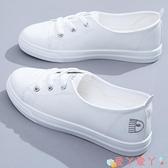 小白鞋小白鞋女鞋2021年夏季新款春秋百搭春季透氣板鞋運動網紅薄款單鞋 愛丫 新品