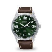【分期0利率】SEIKO 精工錶 V158-0BC0G 綠面 光動能 42mm 原廠公司貨 SNE473P1